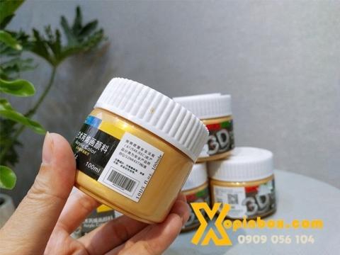 Màu Acrylic Nhũ Vàng 100ML