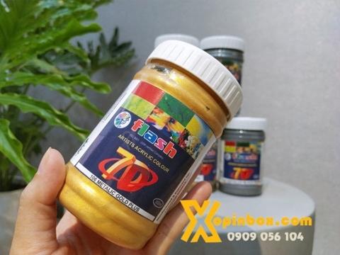 Màu Acrylic Nhũ Vàng Ấn Độ 300ml