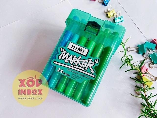 Set Marker Himi Skin Friendly 24 Màu