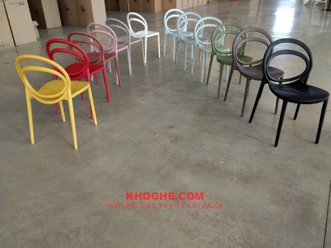Ghế nhựa đúc hiện đại ST-CIRCUS