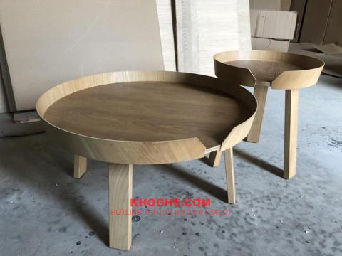 Bộ bàn trà sofa hiện đại TRTH-AROUND