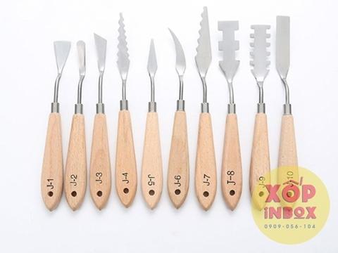 Bộ Bay Vẽ Tranh TOGOOD- Palette Knife Set (10pcs)
