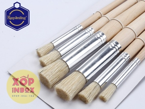 Bộ cọ vẽ đầu tròn Stencil Brushes 6pcs