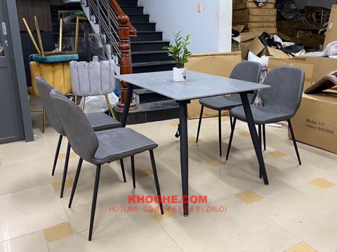 Bộ bàn ăn 4 ghế nhỏ gọn MD-B40-1M2