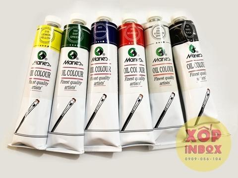 Bộ 6 màu sơn dầu Maries 170ml
