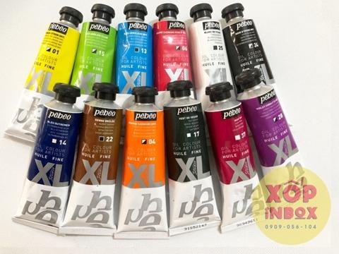 Bộ 12 màu sơn dầu Pháp Pebeo XL 37ml