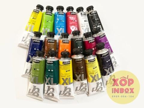 Bộ 18 màu sơn dầu Pháp Pebeo XL 37ml