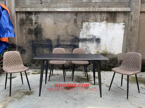 Bộ bàn ăn 4 ghế nhỏ gọn hiện đại MD-B90-1m4