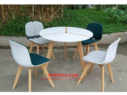 Bộ bàn cafe 4 ghế nhập khẩu hiện đại DP-B10