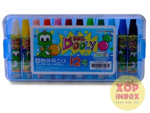 Màu sáp dầu Dooly 12 màu