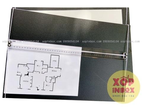Bảng vẽ kỹ thuật gắn thước dây chữ T (A3)